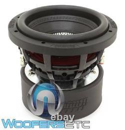 Sundown Audio X-8 V. 3 D4 8 800w Rms Dual 4-ohm Car Subwoofer Bass Speaker Nouveau