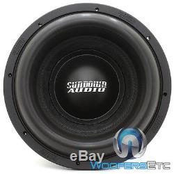 Sundown Audio Z-10 V. 5 D2 10 2000w Rms Double 2 Ohms Subwoofer Enceintes Bass Nouveau