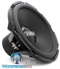 Sundown Audio Z-24 V. 5 D1 24 2000w Rms Double 1 Ohms Caisson De Basses-parleurs Bass Nouveau