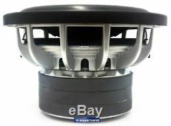 Sx10 Re Audio 10 Woofer 2000w Sub D-4 Ohm Caisson De Graves Haut-parleur Loud Basse Nouveau