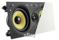 Tdx 5.1 Surround Sound Home Theater System, 8 Haut-parleurs In-wall, 12 Subwoofer