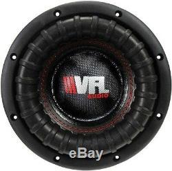 Vfl8d4 Concours 8 Caisson De Graves Haut-parleur Basse Américain 1200w 100 Oz Aimant