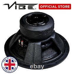 Vibe Blackair 15 Voiture Stereo Audio 3000w Peak Basse Sub Sql Subwoofer Haut-parleur