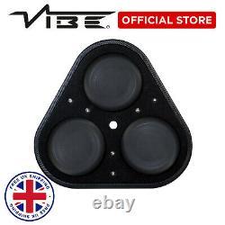 Vibe Blackair Voiture Audio 1500w Peak Roue De Secours Triple 8 Subwoofer Basse Haut-parleur
