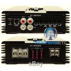 Zapco St-1000xm II Monoblock 1000w Rms Haut-parleurs Subwoofers Ampli Basse Nouveaux