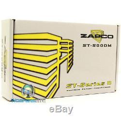 Zapco St-500dm Monobloc 500w Rms Haut-parleurs Subwoofers Classe D Amplificateur De Voiture Nouveau