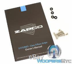Zapco Z-1kd II Monoblock 1050w Rms Haut-parleurs Subwoofers Classe D Ampli Basse